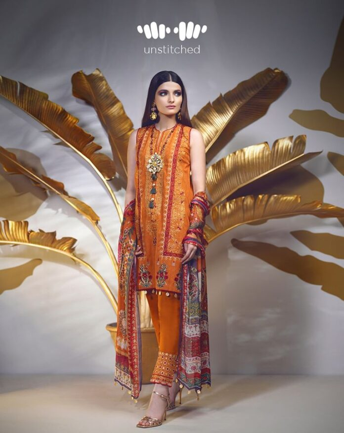 Khaadi New Arrival Signature Unstitched Embroidered Dresses