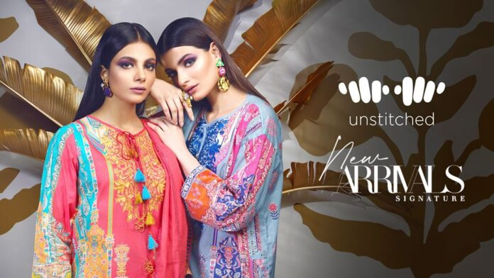Khaadi Unstitched Embroidered 2020 Winter Dresses