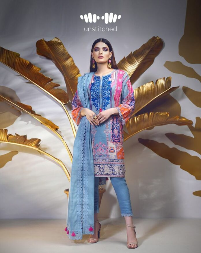 Khaadi Unstitched Embroidered Winter Dresses