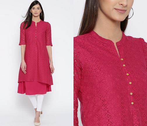 Round-Neck-with-Small-kurta-design