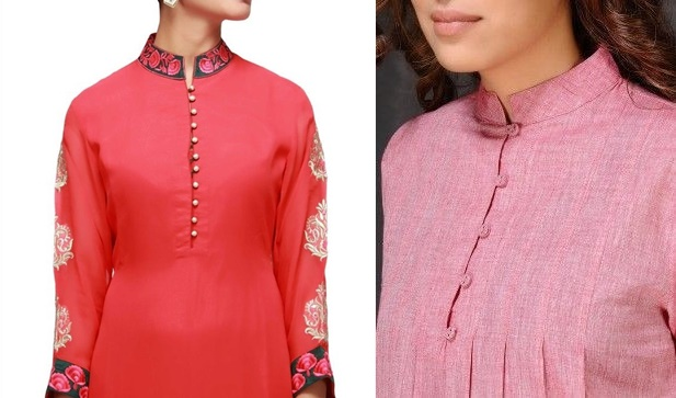 closed-neckline-kurta-design