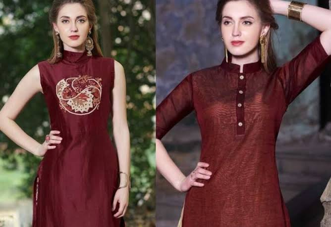fashionable-halter-neck-kurta-design