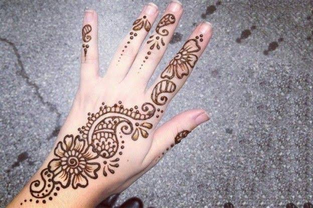 simple mehndi designs arabic for beginners