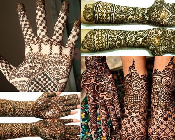 chequered-mehndi-patterns-and-lines