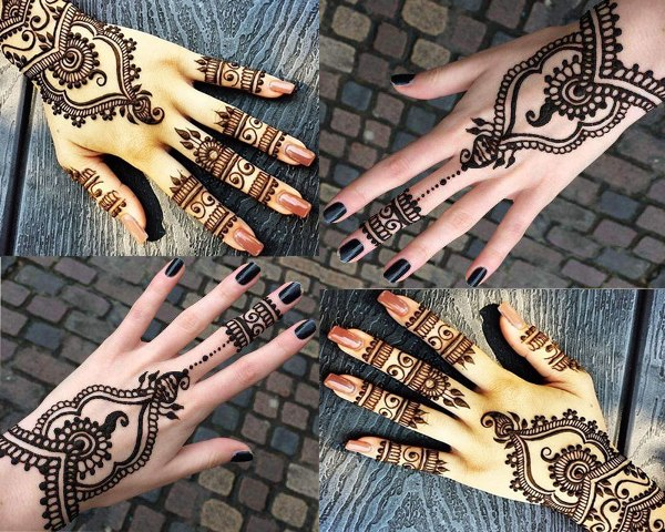 50 Simple & Easy Mehndi Designs For Hands New Styles - Women Fashion Blog