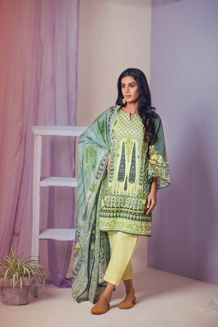 lawn-suits-with-chiffon-dupatta