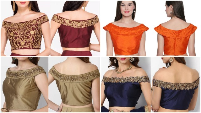 off-shoulder-blouse-back-neck-designs