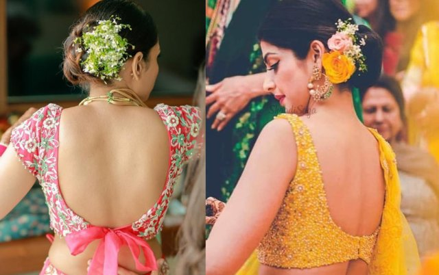 saree-blouse-designs-with-knot-or-bow-on-back