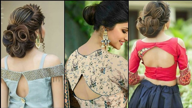stylish-saree-blouse-back-neck-designs