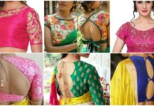 stylish-saree-blouse-neck-patterns