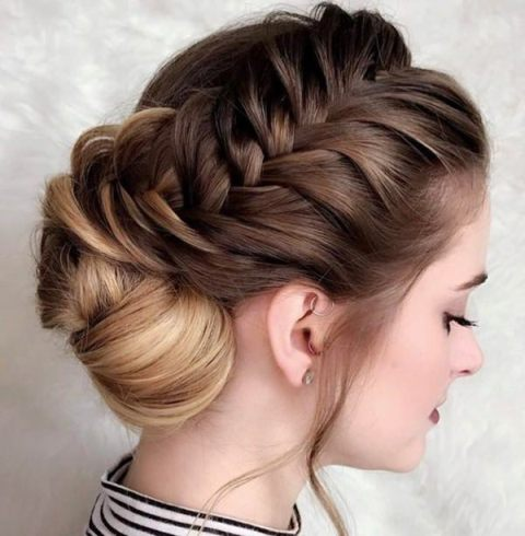the-braid-bun-combination