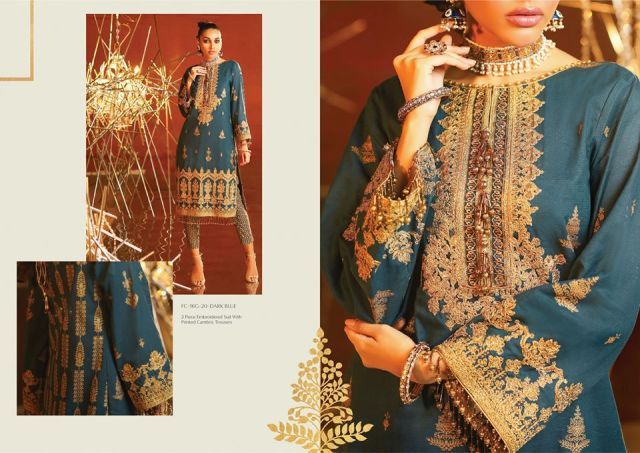 Alkaram Embroidered Suit 2020