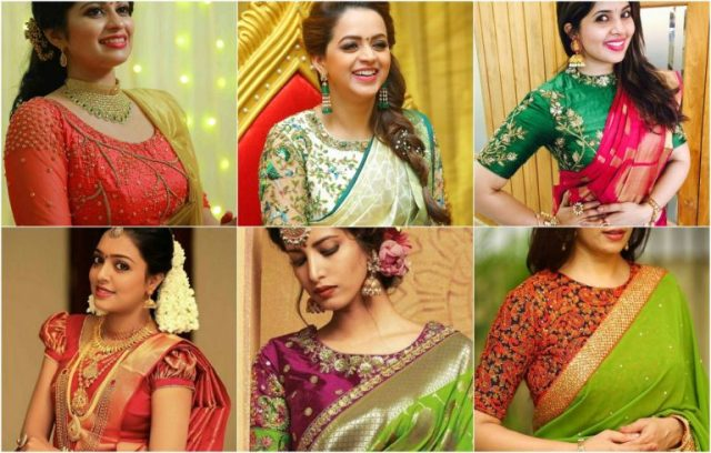 25 Simple Easy Pattu Saree Blouse Designs In 2020 Women Fashion Blog