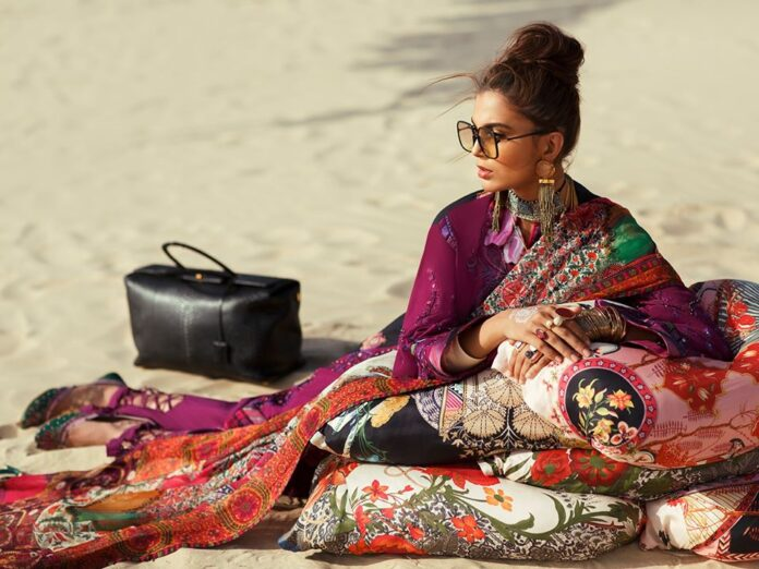Elan Amarli lawn dresses collection