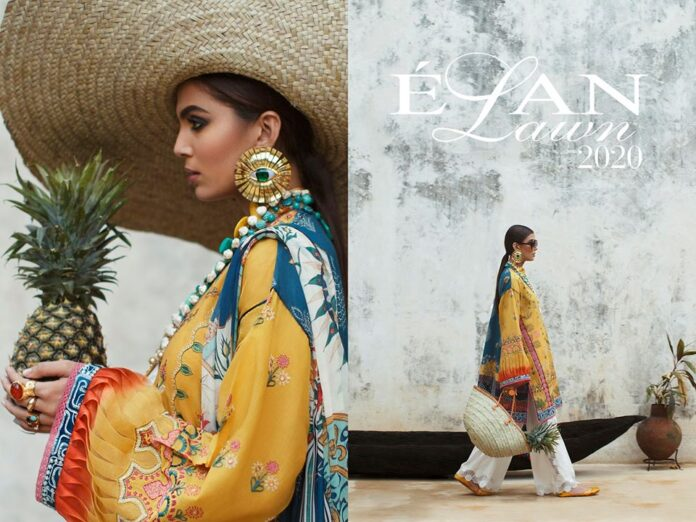 Elan Zahra Lawn Collection