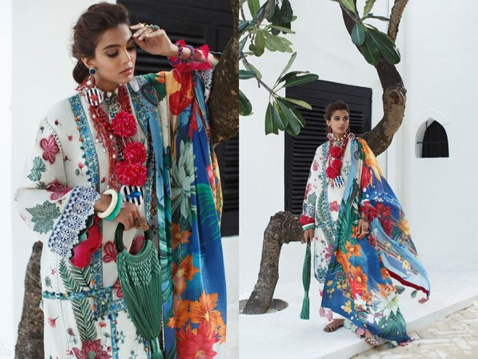 Elan latest lawn dress collection