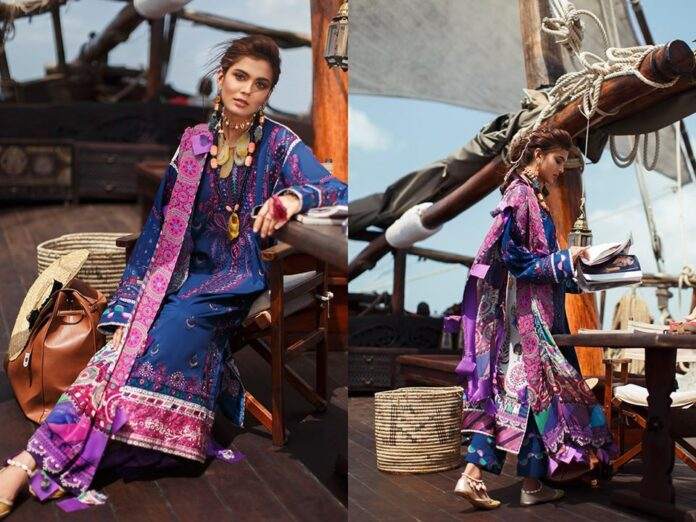 Elan Usiku summer lawn collection