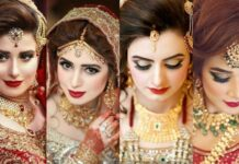 Beautiful Bridal Looks For Wedding