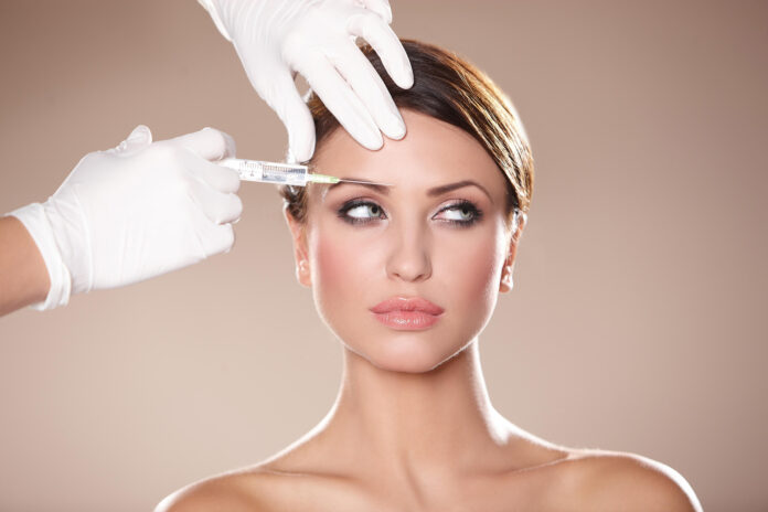 the girl who got botox injected into her forehead